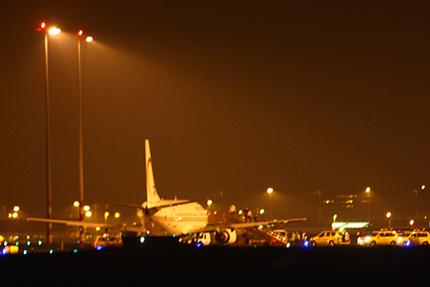 Vliegtuigincident Schiphol door Rowin van Diest